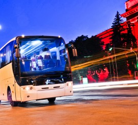 Bus-Werbung