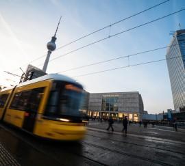 Straßenbahn-Werbung