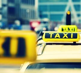 Taxi-Werbung